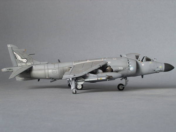 harrier airfix