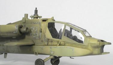 Eksperyment z malowaniem na AH-64