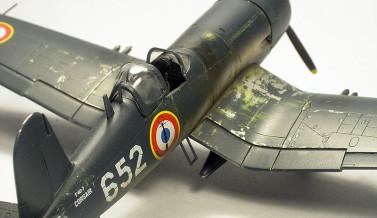 F4U-7 Corsair Italeri 1/72