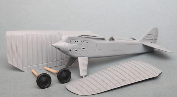 PZL P.1 II konwersja na pierwszą wersję