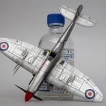 Spitfire F Mk.22 Airfix 1/72 w alu wykończniu