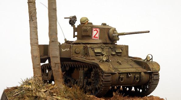M3A1 Stuart  1/72 Mirage Hobby