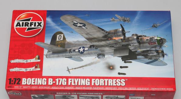 B-17G Airfix 1/72 Inbox a trochę recenzja