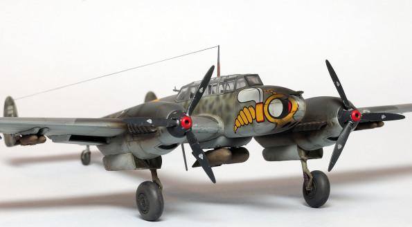 Bf 110 E Eduard 1/72 weekend