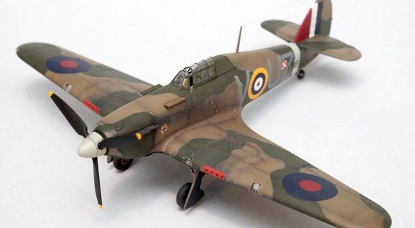 Hurricane Mk I Hasegawa 1/72