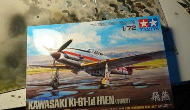 Ki-61 Tamiya 1/72 inbox